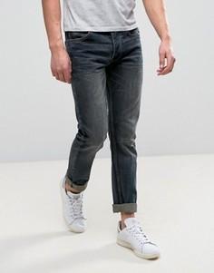 Выбеленные узкие джинсы цвета индиго Bellfield - Синий