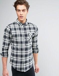 Рубашка в клетку Another Influence - Черный