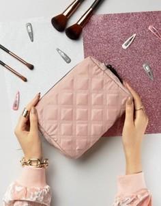 Стеганая косметичка New Look - Розовый