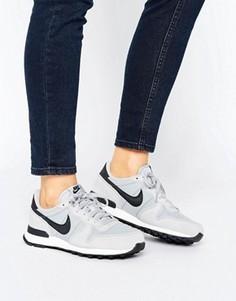 Серые кроссовки Nike Internationalist - Серый
