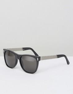 Классические солнцезащитные очки RetroSuperFuture Francis - Черный