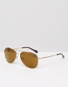 Солнцезащитные очки‑авиаторы Ted Baker - Золотой