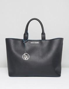 Черная сумка на плечо Armani Jeans - Черный