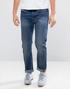 Зауженные джинсы Edwin ED-55 Regular Grime - Синий