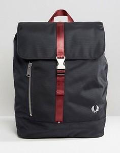 Темно-синий рюкзак с контрастной отделкой Fred Perry - Темно-синий