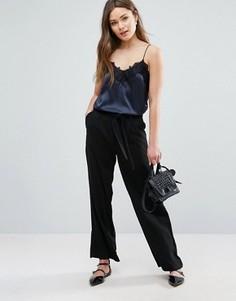 Широкие брюки New Look Minimal - Черный