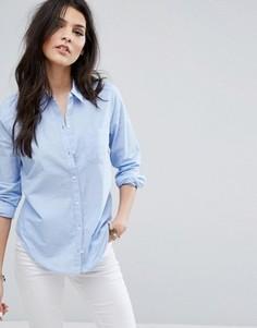 Рубашка в стиле преппи Hollister - Синий