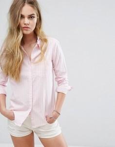 Рубашка в стиле преппи Hollister - Розовый