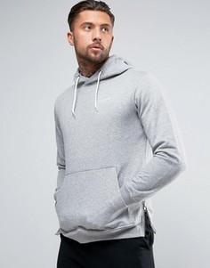 Классическое худи с логотипом Illusive London - Серый