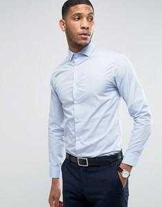 Строгая облегающая рубашка Selected - Синий