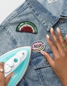 Термонашивки в виде арбуза и пончика DesignB - Мульти