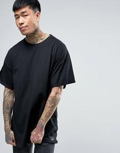 Черная oversize-футболка Sixth June - Черный