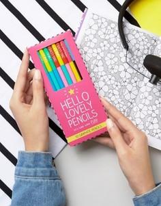 Набор карандашей Happy Jackson Lovely Pencils - Мульти