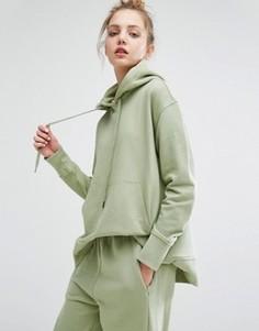 Oversize-худи Weekday - Зеленый