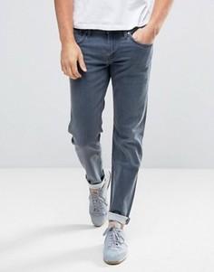 Джинсы слим с выбеленным эффектом Pepe Jeans - Синий