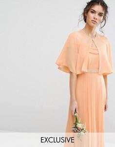 Шифоновая накидка TFNC WEDDING - Оранжевый