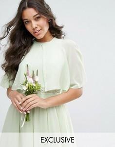 Шифоновая накидка TFNC WEDDING - Зеленый