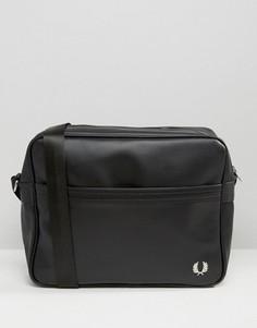 Черная сумка через плечо Fred Perry - Черный