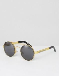 Круглые солнцезащитные очки Spitfire - Золотой