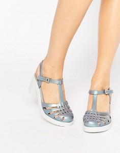 Туфли на каблуке Zaxy Dream - Серебряный