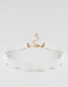Изящное кружевное ожерелье-чокер ALDO - Черный