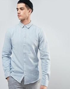 Рубашка классического кроя в полоску Solid - Синий