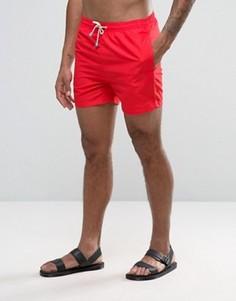Красные шорты для плавания средней длины Oiler & Boiler Tuckernuck - Красный