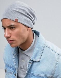 Трикотажная шапка-бини Esprit - Серый