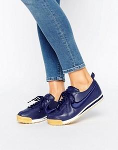 Темно-синие кроссовки Nike Cortez 72 Premium - Синий