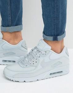 Серые кроссовки Nike Air Max 90 Essential - Серый