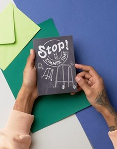 Открытка Stop! Zimmer Time - Мульти Gifts