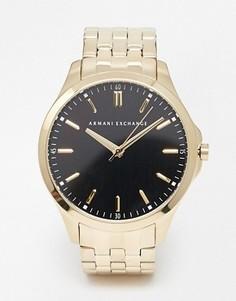Часы из нержавеющей стали Armani Exchange AX2145 - Золотой