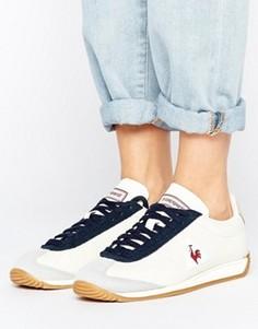 Белые кожаные кроссовки Le Coq Sportif - Белый