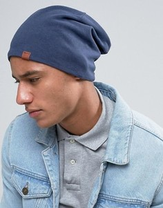 Трикотажная шапка-бини Esprit - Темно-синий