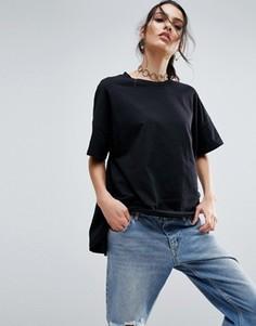Oversize-футболка ASOS - Черный