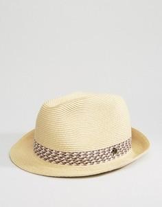 Соломенная шляпа Ted Baker - Бежевый