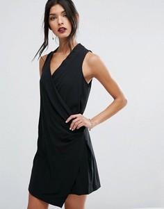 Черное платье мини без рукавов BCBGeneration - Черный