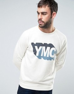 Свитшот с логотипом YMC - Белый