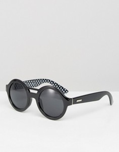 Круглые солнцезащитные очки Minkpink - Черный