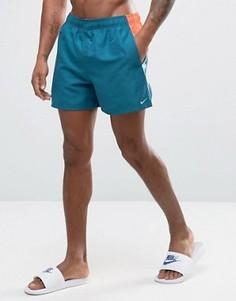 Синие шорты для плавания Nike Current - Синий