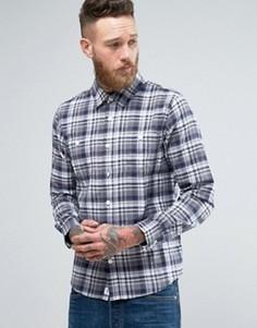 Рубашка Edwin Labour - Темно-синий