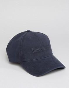 Темно-синяя бейсболка с логотипом Timberland - Темно-синий