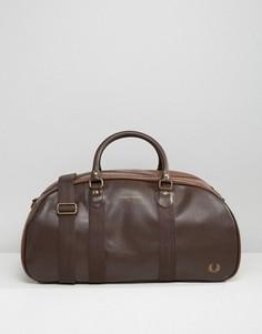 Коричневая сумка Fred Perry Authentic - Коричневый