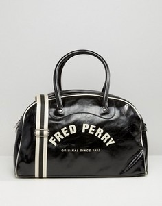 Черная сумка с логотипом Fred Perry - Черный