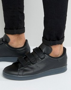 Черные кроссовки adidas Originals Stan Smith - Черный