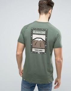 Зеленая футболка The North Face Kilimanjaro Face - Зеленый