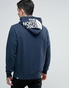 Темно-синий худи с логотипом The North Face Drew - Темно-синий