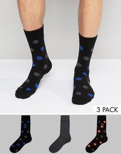 3 пары носков в горошек Pringle - Мульти