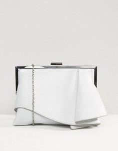 Структурированная сумка Coast Rae - Серебряный