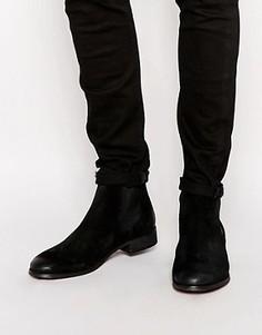 Замшевые ботинки челси Shoe The Bear - Черный